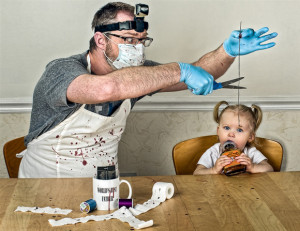 Funniest Photo Album Portraits of a Father's Parody