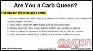 Good tips for the carb cravings