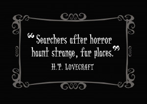 Delightfully Dark Quotes: H. P. Lovecraft