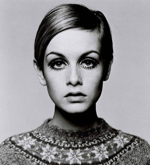 The 60's Twiggy the model