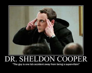Bazinga! Geek God: Sheldon Cooper