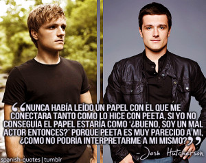 citas #español #quotes in spanish #frases #Josh Hutcherson