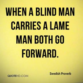 Blind man Quotes