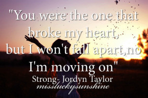 on or quotes about broken hearts and moving on heartbroken quote 2 ...