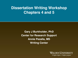 From Qualitative Dissertation to Quality Articles - Nova Southeastern ...