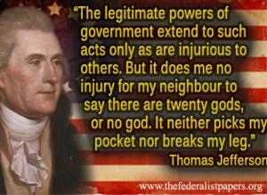 gallery images for thomas jefferson quotes on freedom of religion