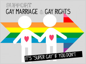 gay rights support