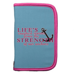 Anchor Strength Quote Folio Planner