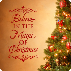 Believe The Magic Christmas
