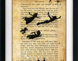 Quotes From Peter Pan About Shadows ~ Popular items for peter pan on ...