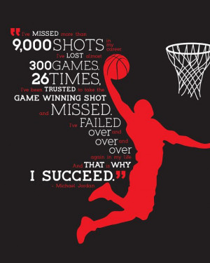 Typographic Poster Michael Jordan Quote by CalleyFlower on Etsy, $15 ...