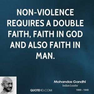 Gandhi Non Violence Quotes