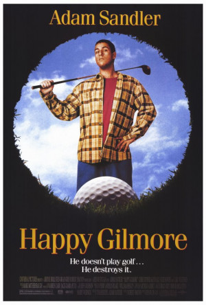 Happy Gilmore Style A 27 x 40 Inches - 69cm x 102cm Poster Print
