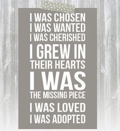 ... ://www.etsy.com/listing/165603022/adoption-print-i-was-chosen-print