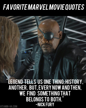 Favorite Marvel Movie Superhero Quotes