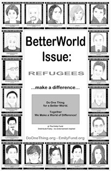 print out set of refugee quotes handouts