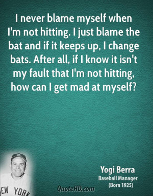 Yogi Berra Change Quotes