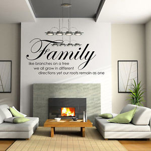 ... DIY Removable Art Vinyl Quote Wall Sticker Decal Mural Home Room Decor