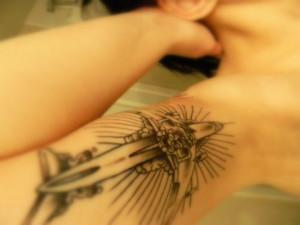 Survivor, Chuck Palahniuk, Tattoo, rest of the arm is Rant, Diary ...