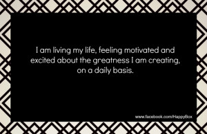 am creating, on a daily basis. #motivation #affirmation #quotes ...