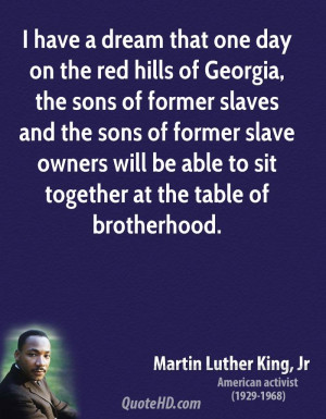 Martin Luther King, Jr. Equality Quotes