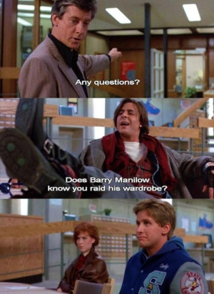 Breakfast club quotes, best, sayings, playing