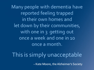 ... committed to improving the lives of people with dementia in London
