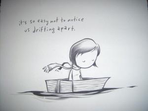 drifting apart quotes tumblr