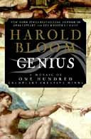 Genius by Harold Bloom - Reading right now. Super interesting and ...