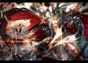Cardfight Vanguard Gold Paladin Ezel