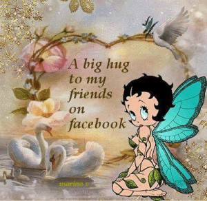 My friends on Facebook quotes quote facebook betty boop