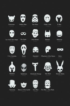 Las máscaras más populares del cine