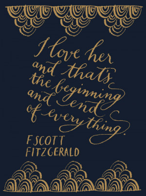 love truth quote classic book Literature The Great Gatsby F Scott ...