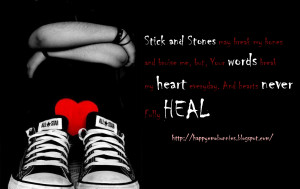 Emo Quotes About Pain Emo-quotes-red-heart2