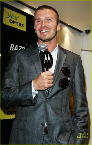 David Beckham Pimps Himself Well | David Beckham Photos | Just Jared