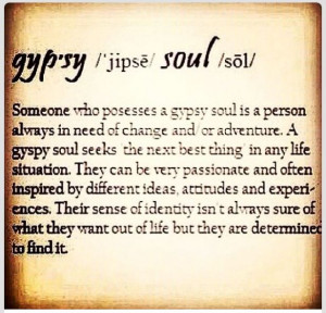 Gypsy Soul Quotes