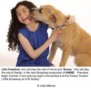 sandy in annie on broadway nbc owned television stations to air annie ...