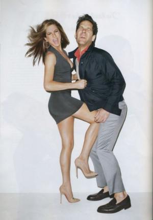 Jennifer Aniston + Paul Rudd.