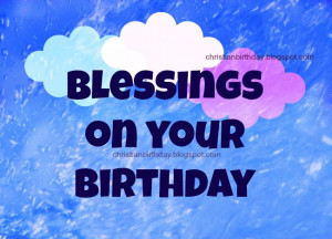 happy birthday blessings