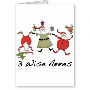 Wise Men Funny Christmas Cards