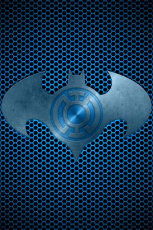 Metalic Blue Lantern Batman...