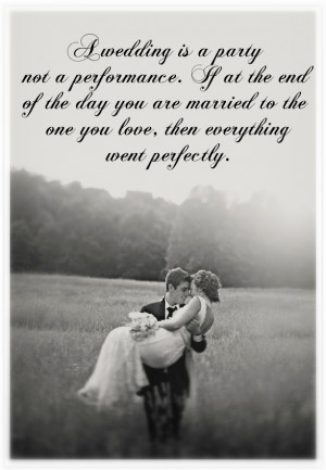Words to Live By: Wedding Edition