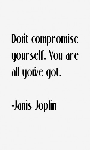 Janis Joplin Quotes amp Sayings