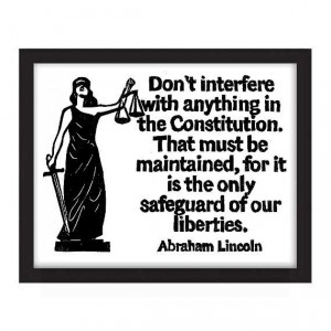 LAW~POSTER 11x14 Abraham Lincoln Quote Don't by WordsIGiveBy,etsy