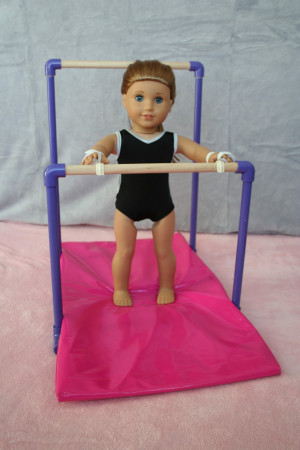 ... Crafts for your American Girl Doll: Uneven Bars for American Girl doll