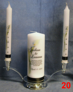 Unity Candle...not too crazy about the actual candle but I really like ...