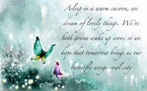 Short quotes about butterflies