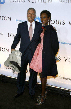 Bussiness man Larry Gagosian and girlfriend Creative Director Shala ...