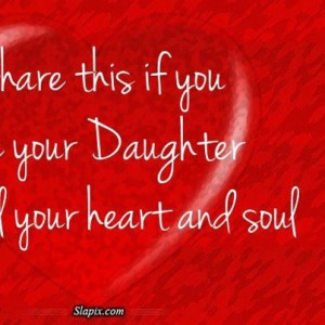 To my beautiful daughters