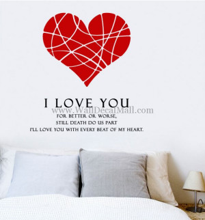 home wall decals quote amanda i love you quote wall decals